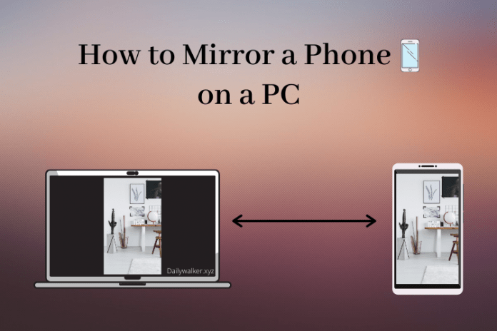 How to Mirror a Phone