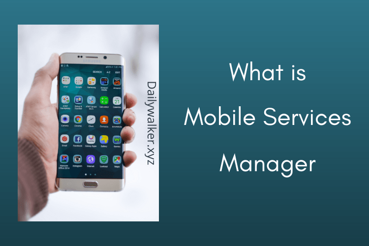 mobile services manager app, mobile services manager, DT IGNITE, what is mobile services manager, mobile service manager